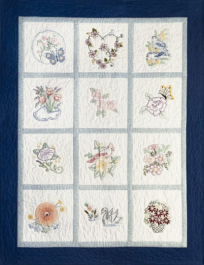 Miss Bee's Garden Embroidery Club