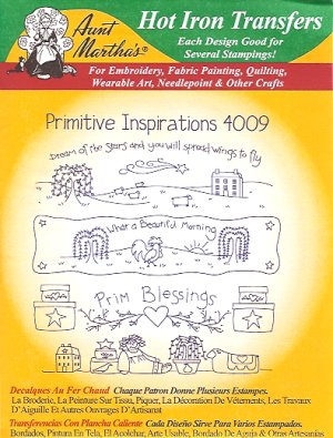 Aunt Martha 4009 - Primitive Inspirations