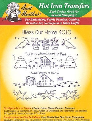 Aunt Martha 4010 - Bless Our Home