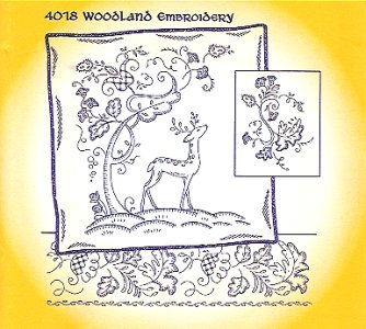 Aunt Martha 4018 - Woodland Embroidery