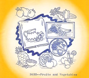 Aunt Martha 3632 - Fruits and Vegetables