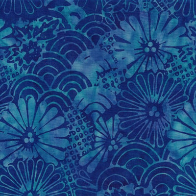 Majestic Batiks - On the Docks 570 Blue