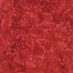 Majestic Batiks - D-325 Red