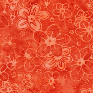 Majestic Batiks - Kamdyn 121 Orange