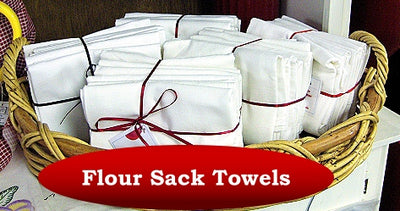 Flour Sack Dishtowels - Set of 7