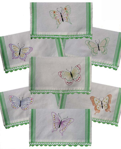 Calico Wings Embroidery Transfers