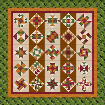 BOM - Centennial Sampler Block of the Month