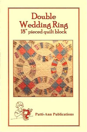Double Wedding Ring Quilt Block Pattern