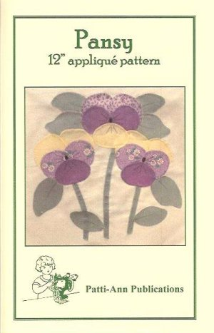Pansy Quilt Block Pattern