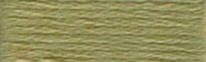 DMC Embroidery Floss - #3012 Khaki Green, Medium