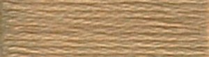 DMC Embroidery Floss - #3045 Yellow Beige, Dark