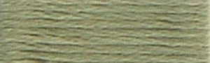 DMC Embroidery Floss - #3052 Green Gray, Medium