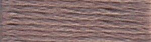 DMC Embroidery Floss - #451 Shell Gray, Dark