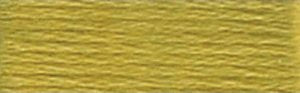 DMC Embroidery Floss - #733 Olive Green, Medium