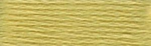 DMC Embroidery Floss - #734 Olive Green, Light