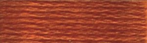 DMC Embroidery Floss - #918 Red Copper, Dark
