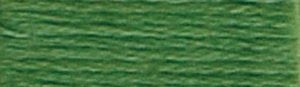 DMC Embroidery Floss - #987 Forest Green, Dark