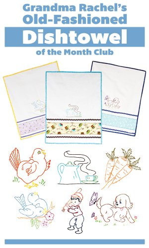 Grandma's Dishtowel Embroidery Club