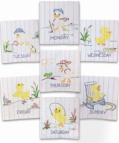 Ducky Days Embroidery Transfers