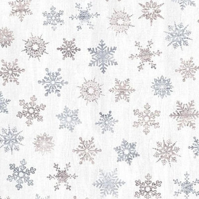 Timeless Treasures - CF7477 Snowflakes