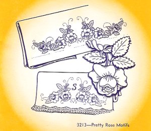 Aunt Martha 3213 - Pretty Rose Motifs