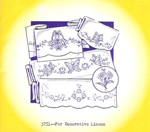 Aunt Martha 3751 - For Decorative Linens