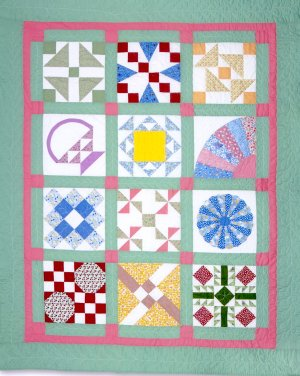 The Grandma Blocks Sampler Quilt