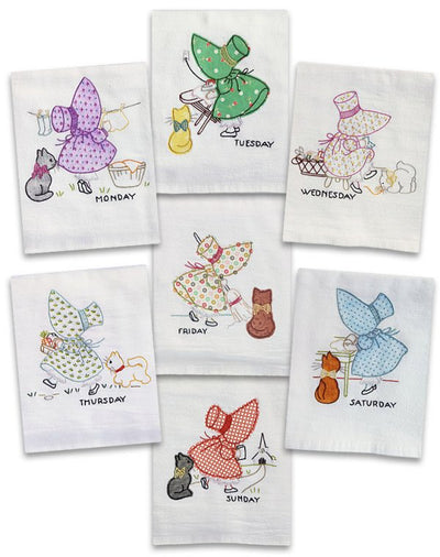 Little Sunbonnet Sue Iron-On Transfers