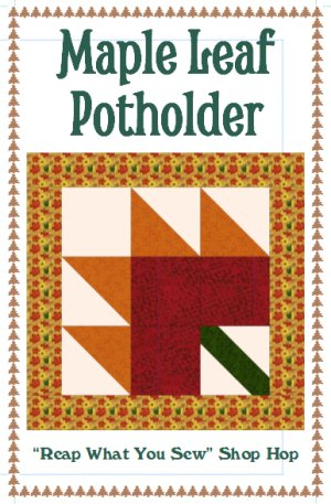 Maple Leaf Potholder Kit