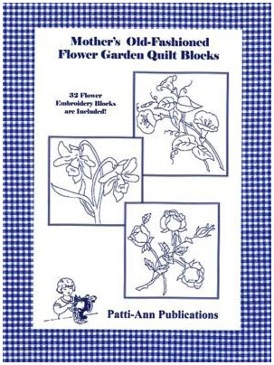Mother's Old Fashioned Flower Garden Quilt Blocks