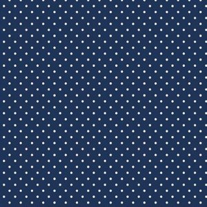Riley Blake - C670-21 Navy Swiss Dot