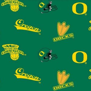 NV Sports - Oregon Ducks Fabric