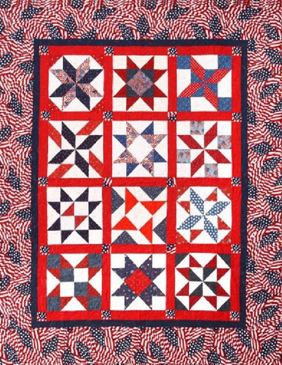 Patriotic All Stars Block of the Month
