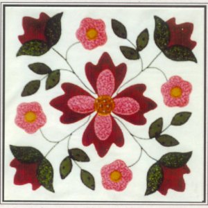 Seasons Remembered - Patriot's Rose Quilt Kit