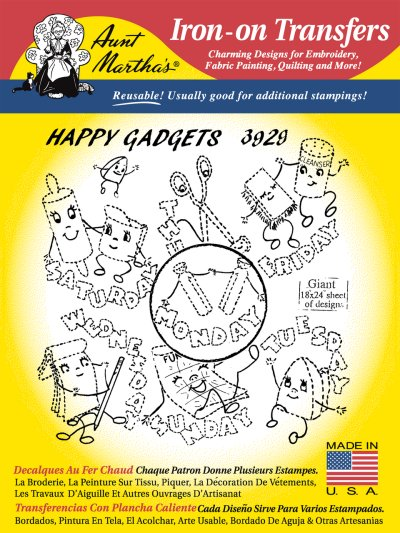 Aunt Martha 3929 - Happy Gadgets