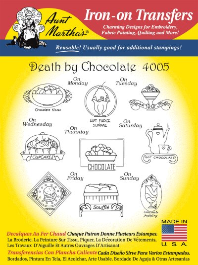 Aunt Martha 4005 - Death by Chocolate