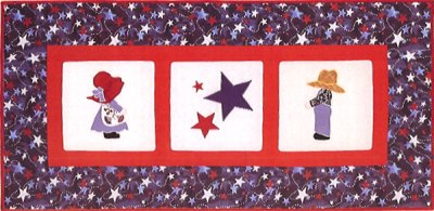 Red White and Sue Quilt Kit