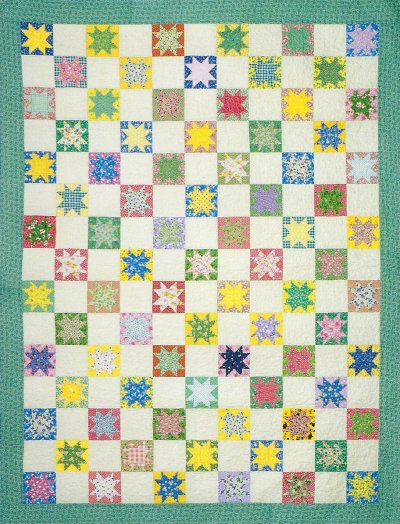 Starry Eyed Thirties Quilt