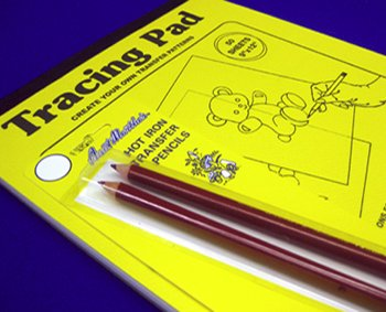 Aunt Martha - Tracing Pad and Pencil Combo Pack
