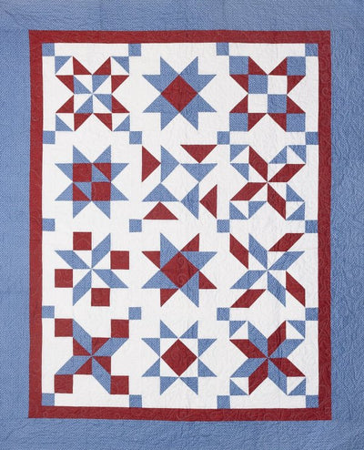 Yankee Doodle Dash Block of the Month