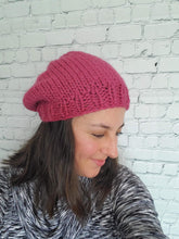 Load image into Gallery viewer, Chunky Knit slouchy hat