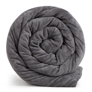 Open image in slideshow, HUSH Classic Weighted Blanket - GREY