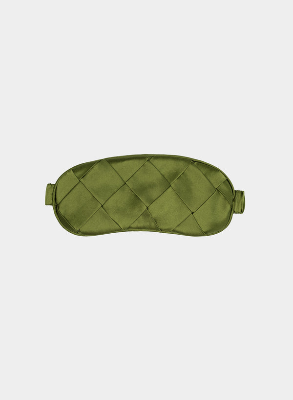 Anni Sleep Mask Alpine Green