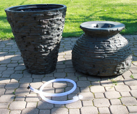 Assembling Your Aquascape® Medium Stacked Slate Urn