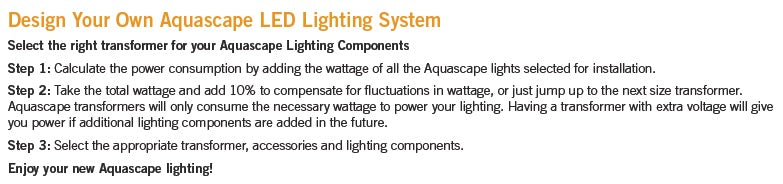 Design Your Own Aquascape LED Lighting System