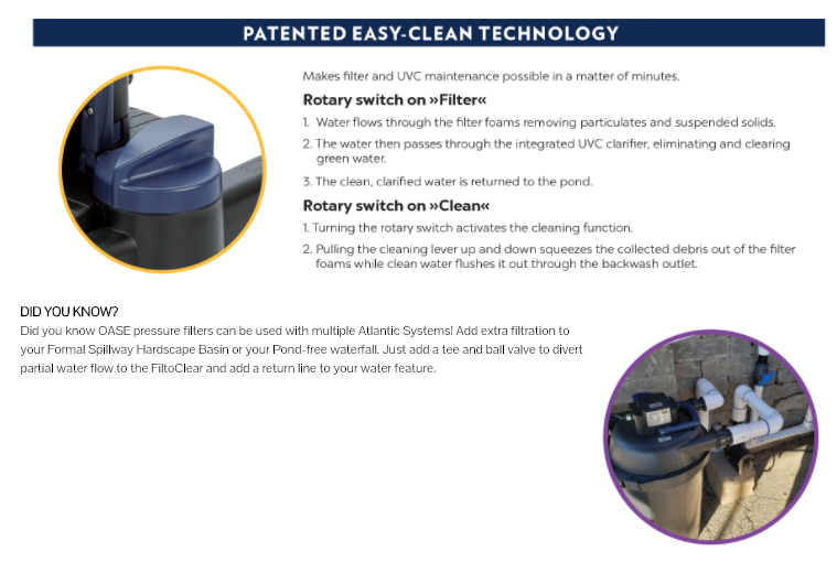 Patented Easy-Clean Technology
