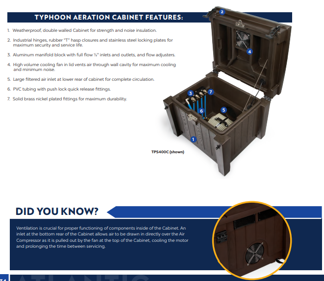 Typhoon Cabinet Features