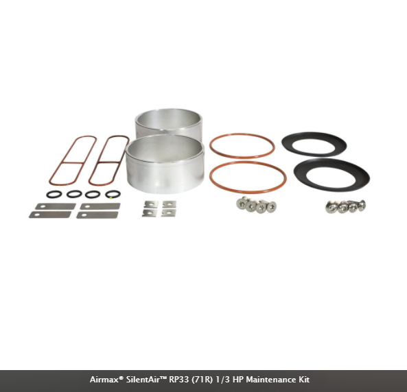 Airmax® SilentAir™ Compressor Maintenance Kits
