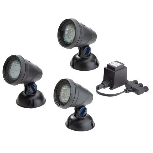 Atlantic® Oase LunAqua Classic 3-Light LED Set with Transformer