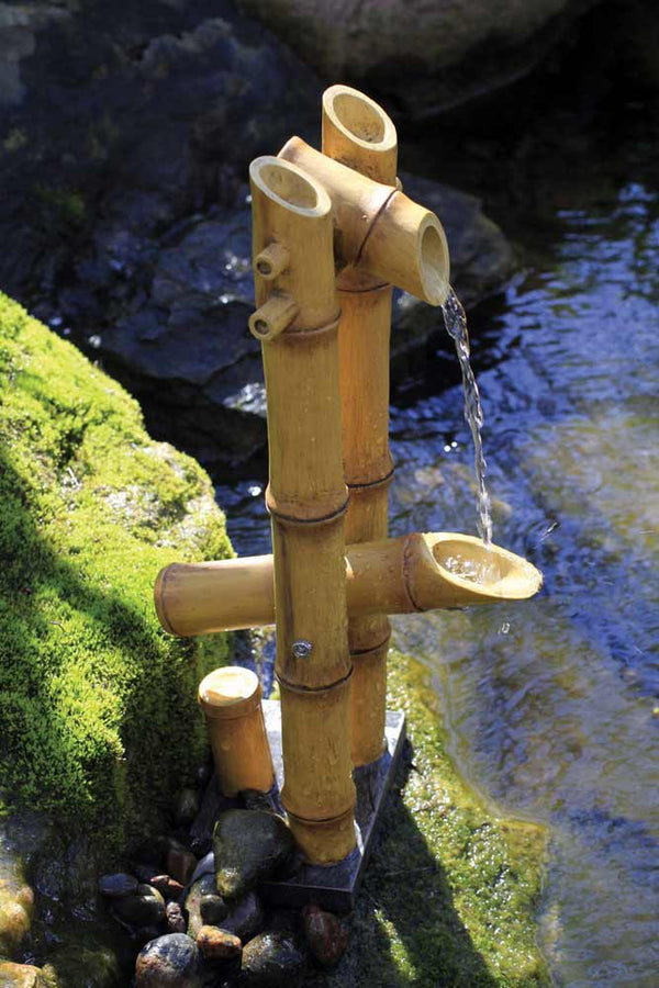 Deer Scarer Bamboo Fountain